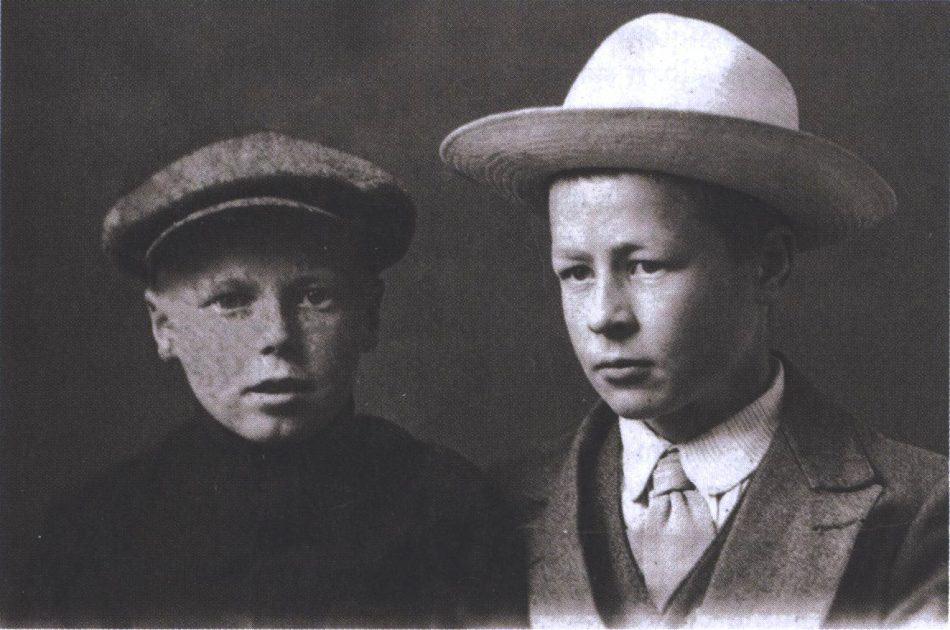 Братья Ахола, 1916