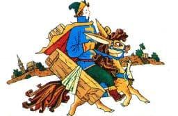 Валентина и Сергей Чиненовы. Конек-Горбунок. 1991. Фото: www.fairyroom.ru