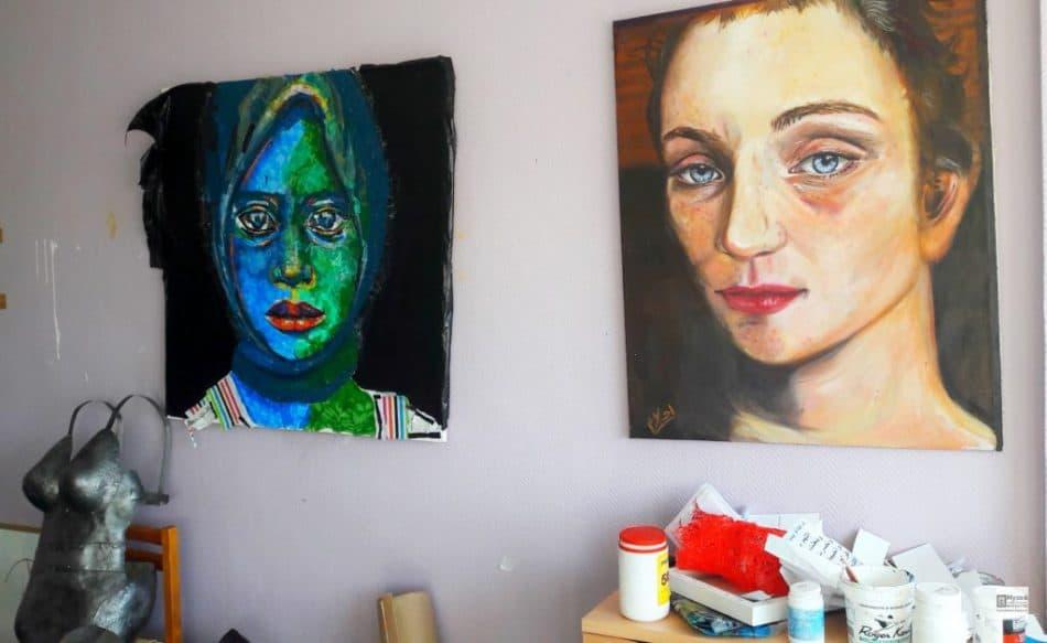 Мастерские художников в изгнании