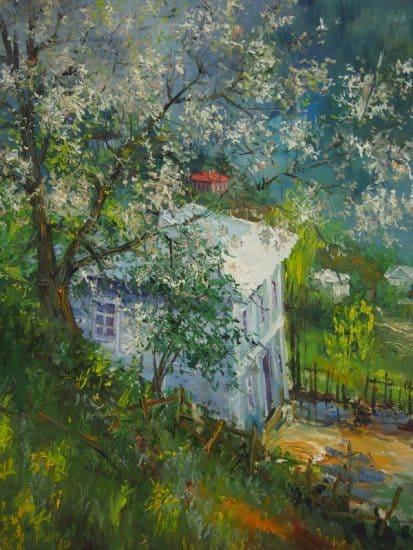 Ростом Басиладзе. Весна