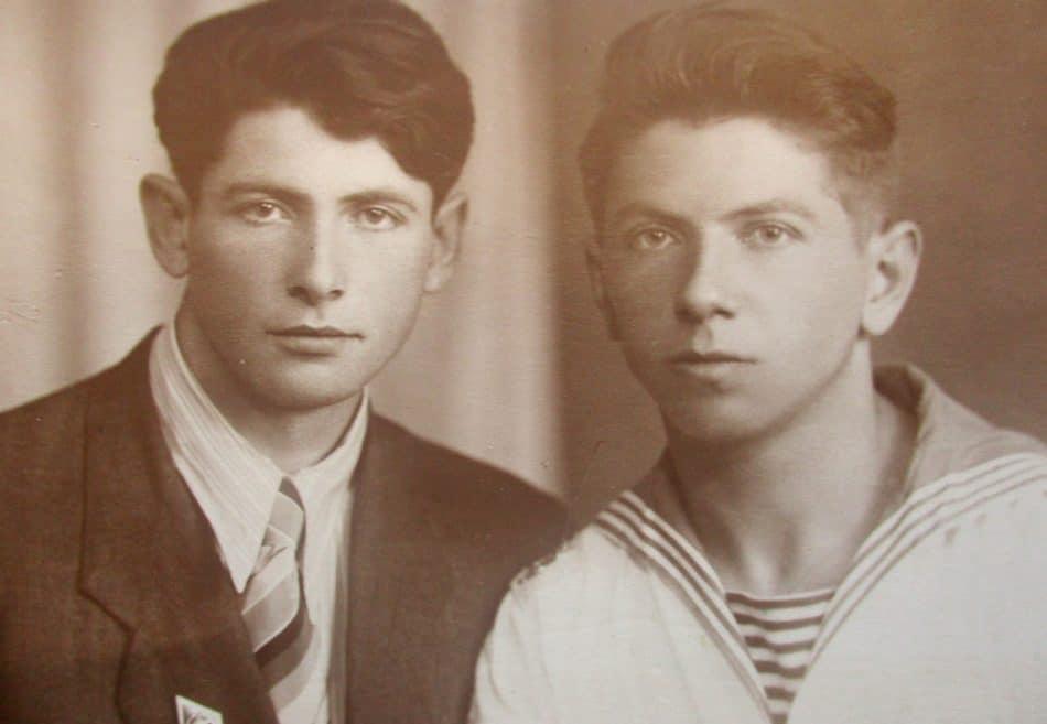 Леонард Жемойтель (слева) и Олег Никитин