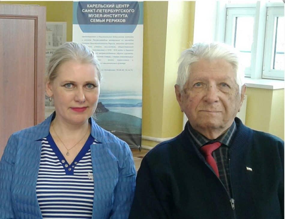 Яна Жемойтелите и Олег Никитин