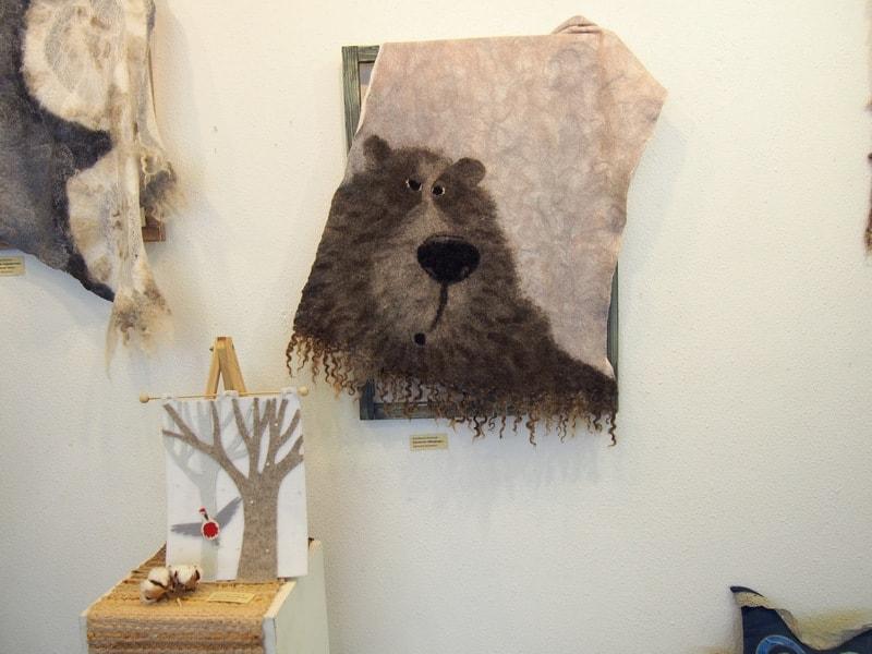 На выставке «Войлок & Kо»