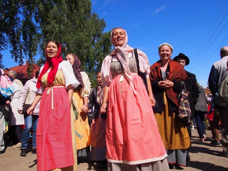 Иллюзии Старого города. Петрозаводск, 29 июня 2019 года. Фото Ирины Ларионовой