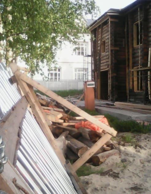 28 мая 2019 года. И вновь ворота упали. фото Ю.Свинцовой