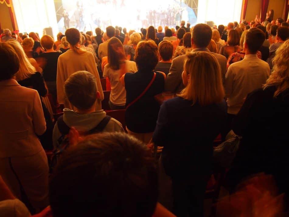 Овации зала. Фото Ирины Ларионовой