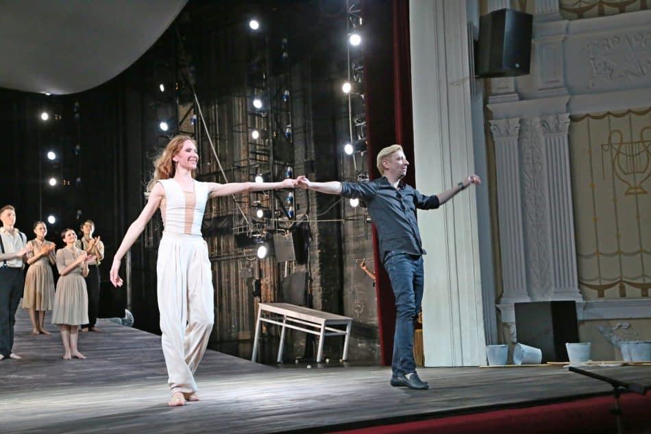Кирилл Симонов и Анна Маркова . Фото Владимира Ларионова