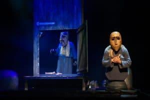Фото Михаила Никитина с репетиции спектакля «Kalevala.ruны»