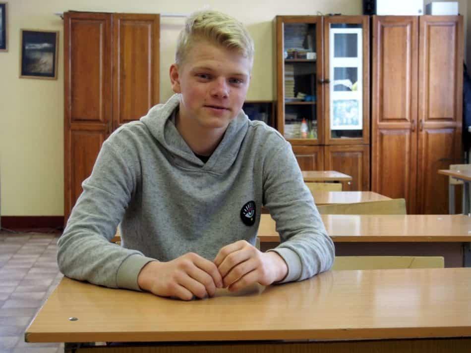 Матвей Михайлов, десятиклассник Державинского лицея. Фото Марии Голубевой