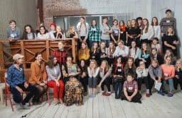 """Юнкоры """"Моей газеты+""""  с педагогами-журналистами. Фото из группы vk.com/mygazeta"""