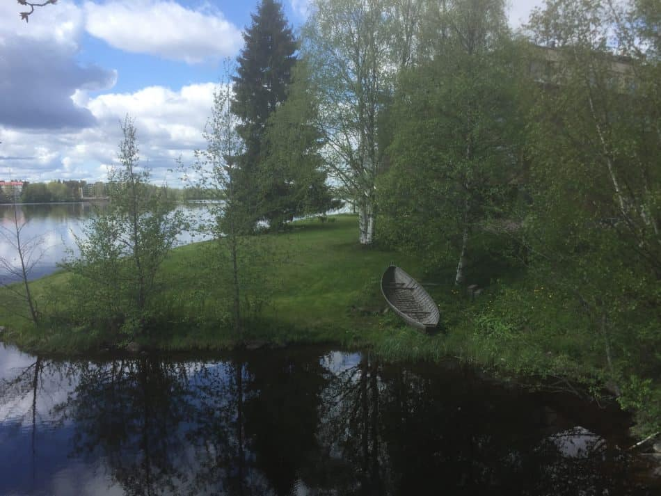 В Лапландиии. Фото Яны Жемойтелите