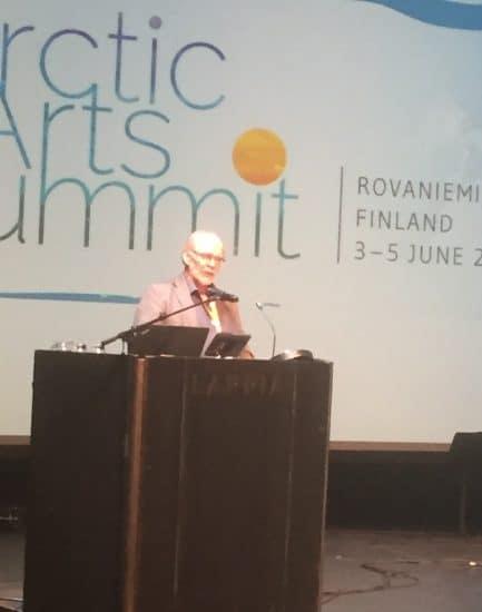 Арктический саммит искусств в Рованиеми. Фото Яны Жемойтелите