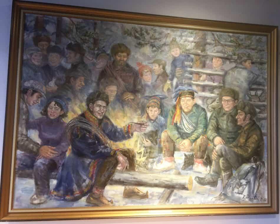 В Рованиеми. Фото Яны Жемойтелите