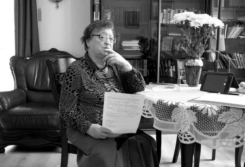 Лидия Владимировна Савельева. Фото Ирины Ларионовой