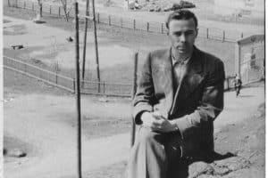 Владимир Крылов в  городе Лахденпохья. 1950-е. Фото из личного архива Натальи Крыловой