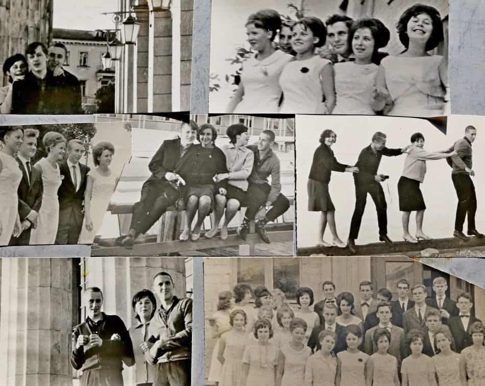 Выпускной вечер. Петрозаводск, середина 60-х