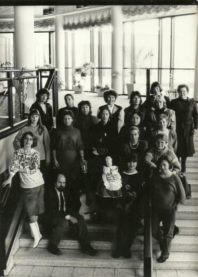 Участницы «Марии» на конференции в Костомукше. 1991 год