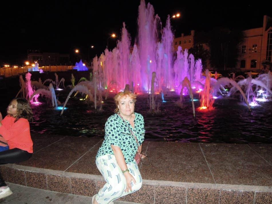Лидия Винокурова в Астрахани