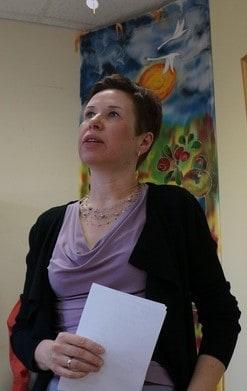 Елена Харламова. Фото Ирины Ларионовой