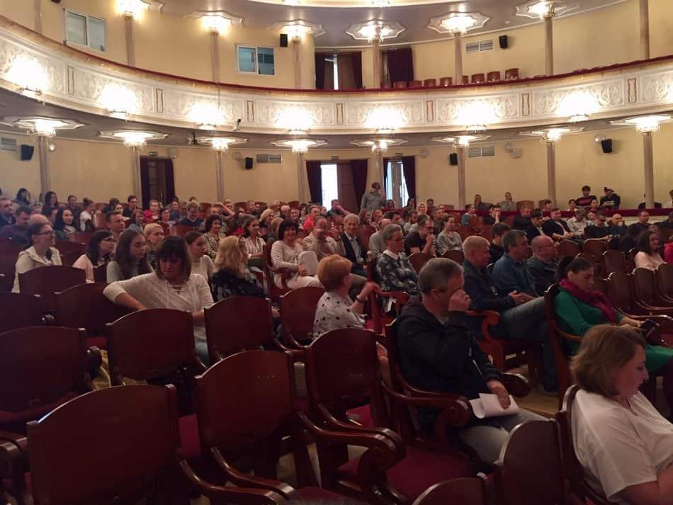 Труппа Музыкального театра собралась после летних каникул