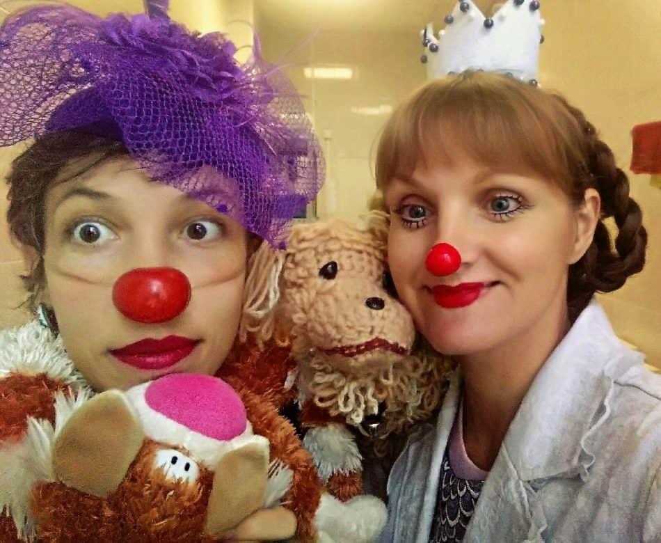 Ирина Воскресенская (справа) и Анна Натальчук