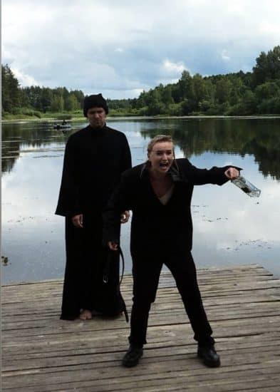Людмила Исакова в роли Бориса Годунова