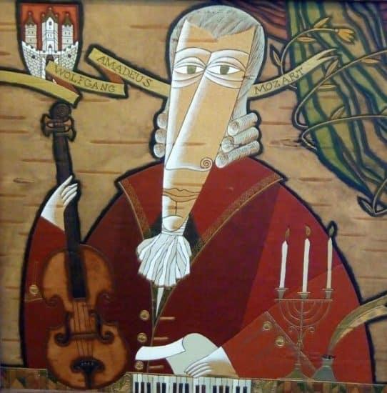 Владимир Зорин. Моцарт