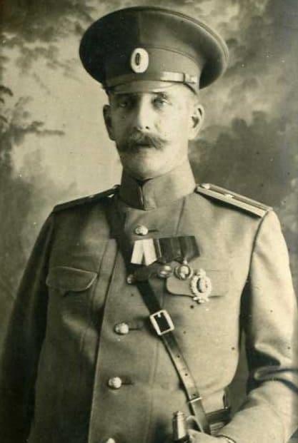 Оскар Карлович Майер в августе 1914