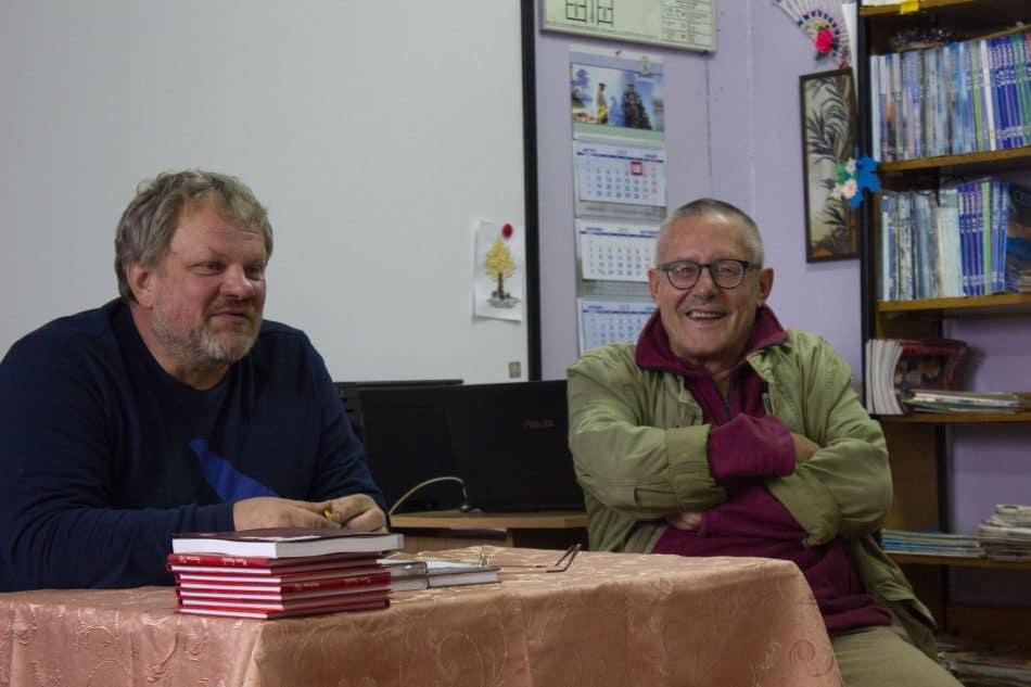 Сергей Пупышев (слева) и Мариуш Вильк