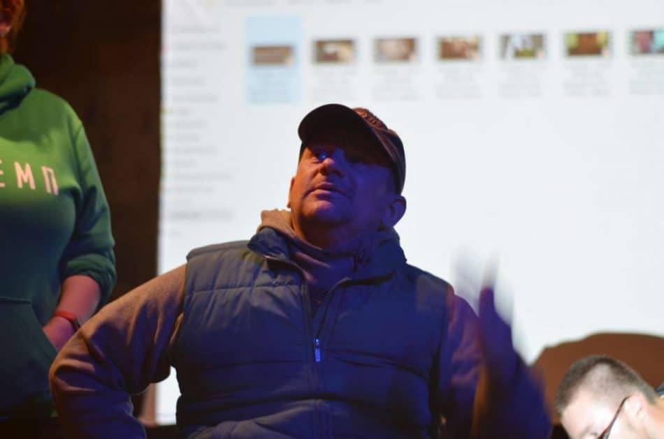 Владимир Рудак на Фестивале уличного кино в Петрозаводске