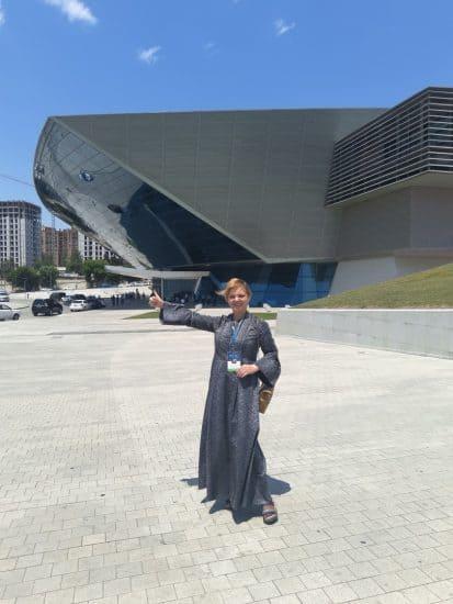 Светлана Георгиевская в Баку