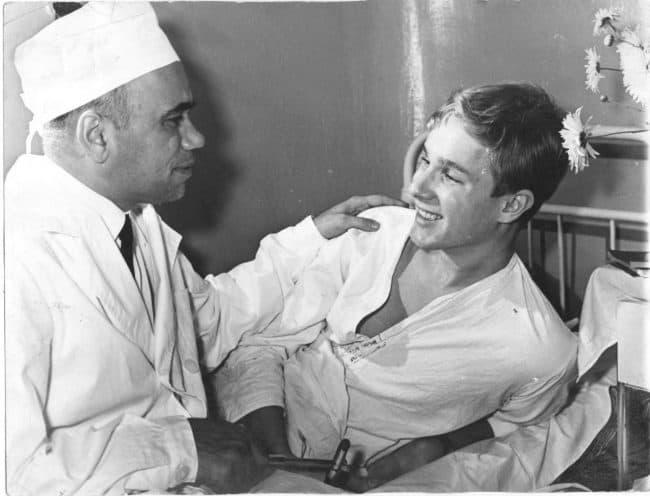Советский доктор спас молодого финна. 1966 год