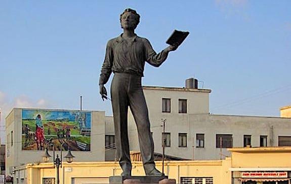 В Эфиопии появится пятиметровый памятник Пушкину
