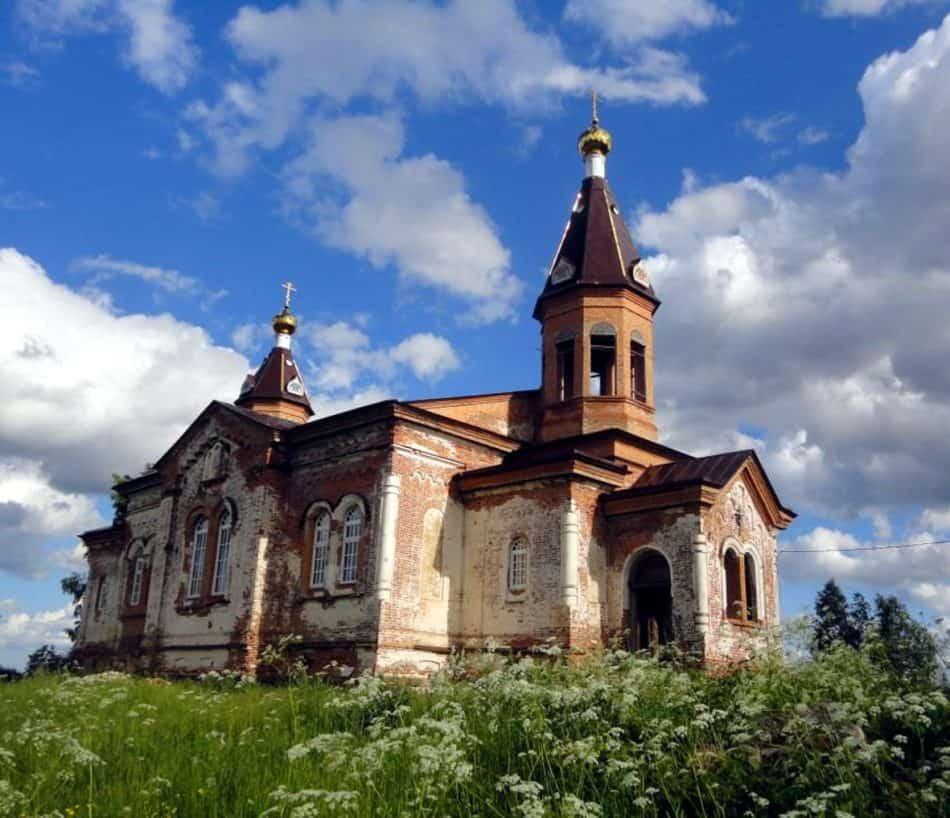 Троицкая церковь в Кончезере