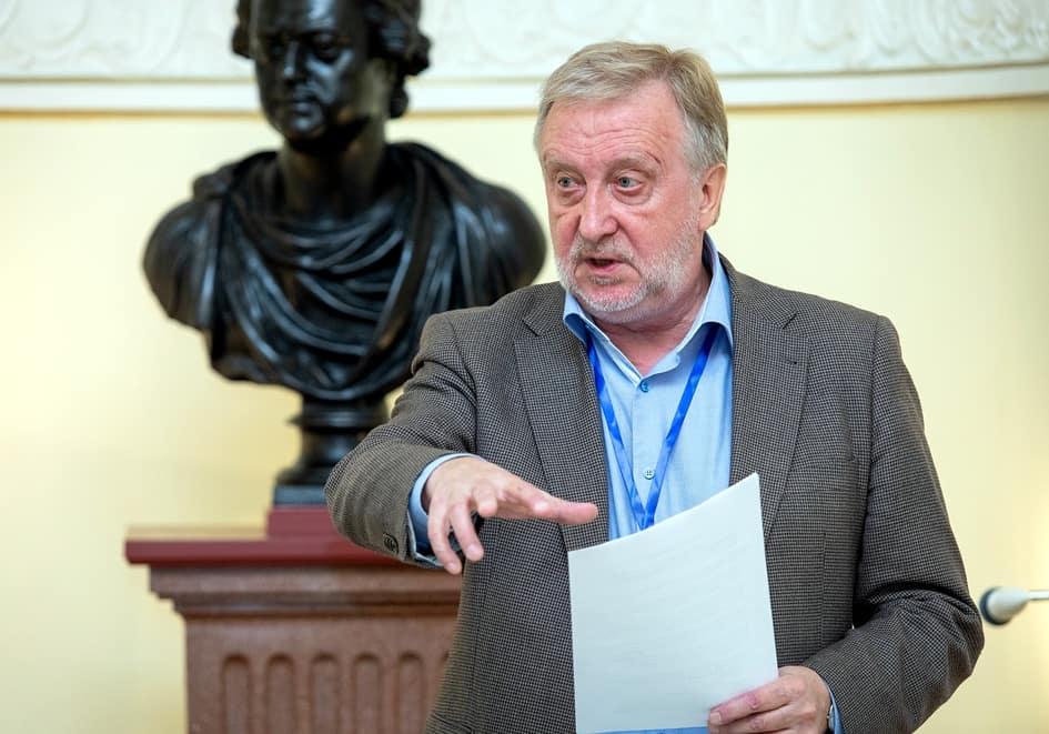 Исполнительный директор Международного благотворительного фонда имени Д.С. Лихачева Александр Кобак