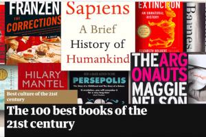 Книга Алексиевич вошла в топ-100 произведений XXI века