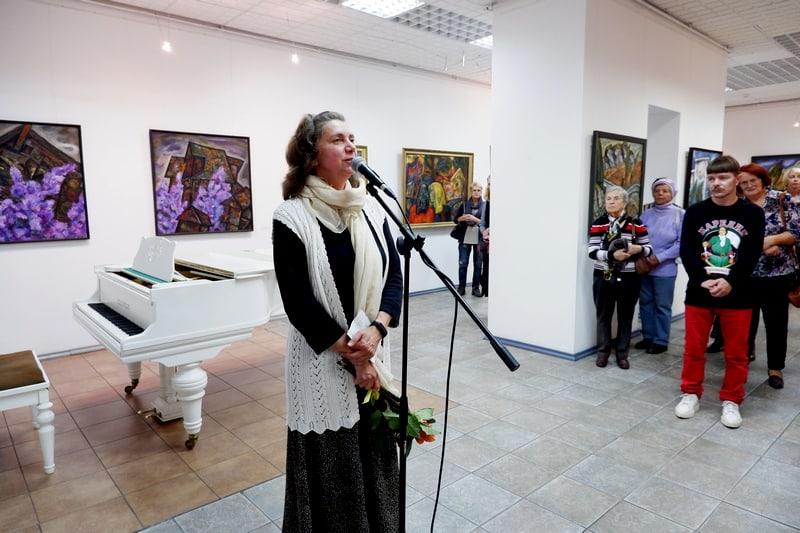 В Петрозаводске открылась выставка «Михаил Юфа. Жажда живописи». Фото Ирины Ларионовой