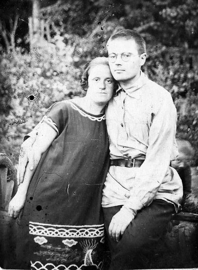 Виктор Пантелеймонович Гудков с супругой Ольгой Николаевной