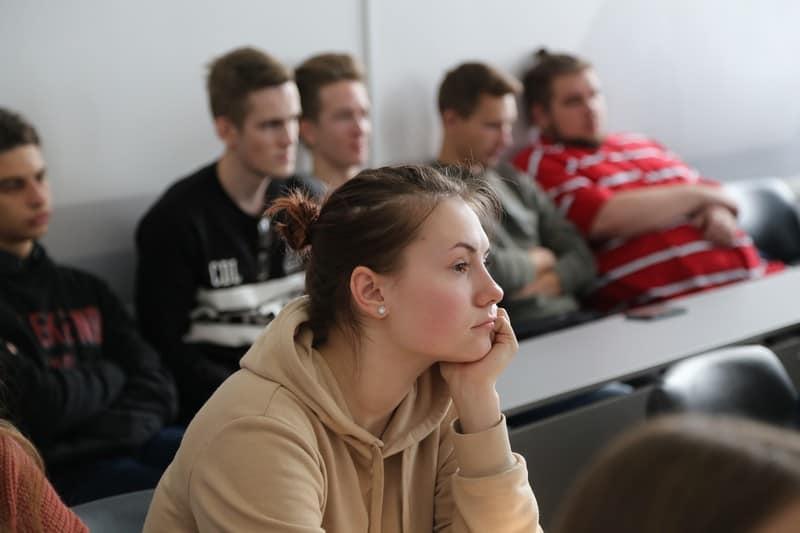 В конференции приняли участие студенты. Фото Владимира Ларионова