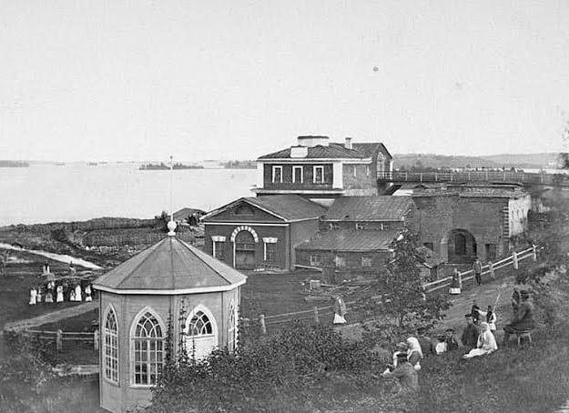 Завод в Кончезере. 1884 год. Фото Ярослава Пекарского