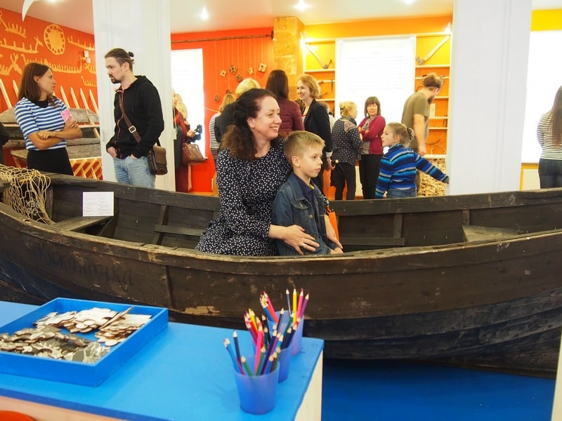 """Выставка """"Все дело в лодке"""" открылась в музее-заповеднике """"Кижи"""". Фото Ирины Ларионовой"""