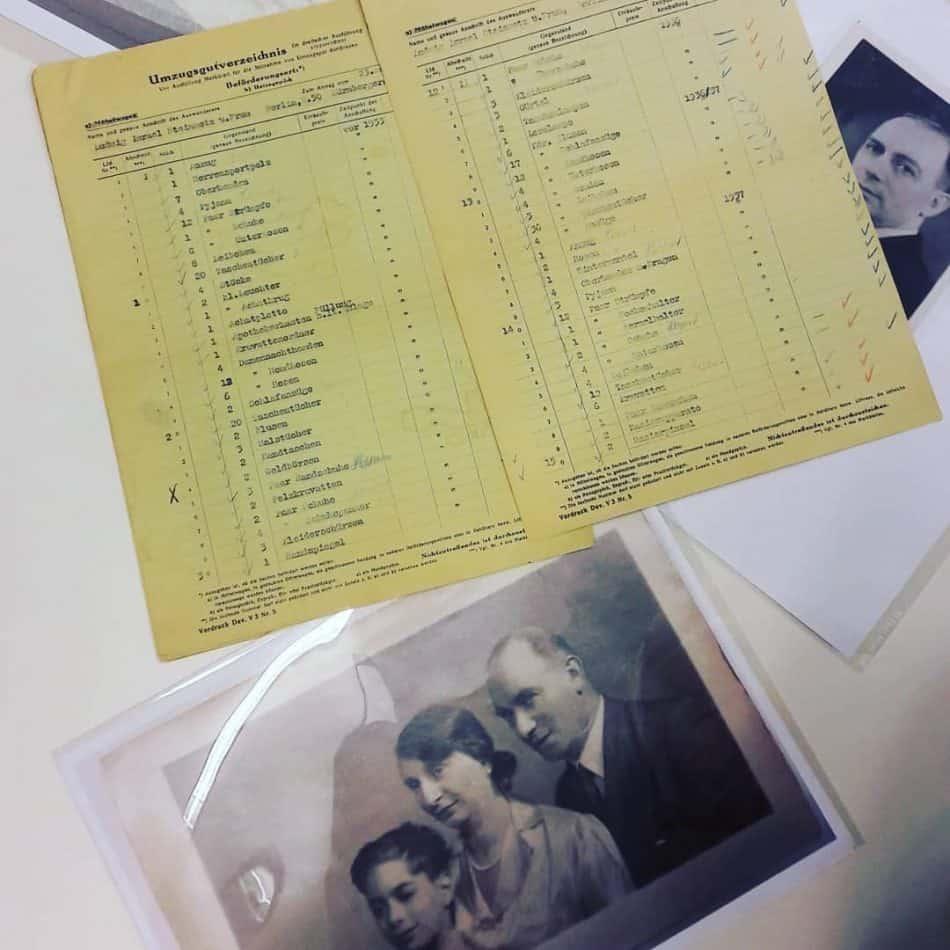 Архивные документы в Еврейском музее