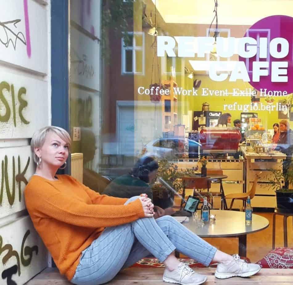 Автор публикации Наталья Козловская в кафе REFUGIO