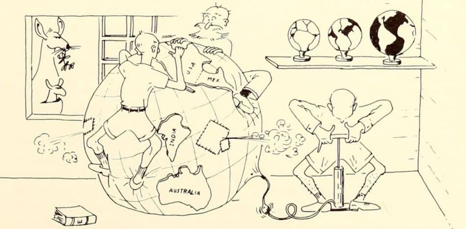 Рис. из «Собрания репринтов Института океанографии» (1966), США, с. 110. The Commons