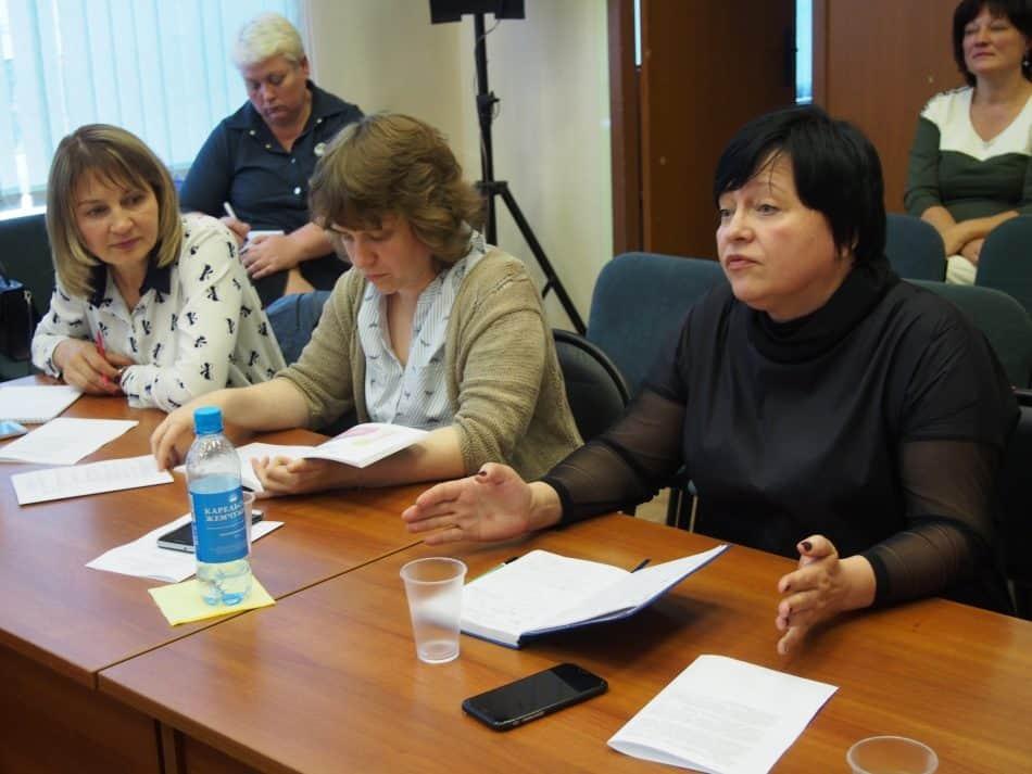 Диана Миролюбова попросила, чтобы учителям дали, наконец, возможность работать с детьми. Фото Марии Голубевой