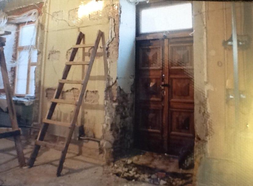 Ремонт в музее ИЗО. Фото из архива Натальи Вавиловой