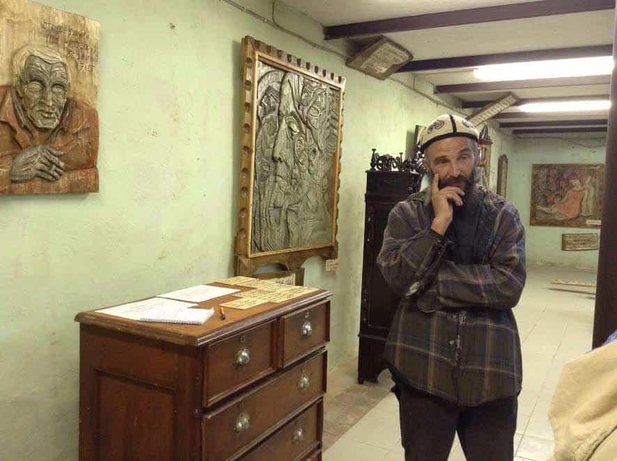 Иван Марценюк в своем музее, 2016 год. Фото Валентины Чаженгиной