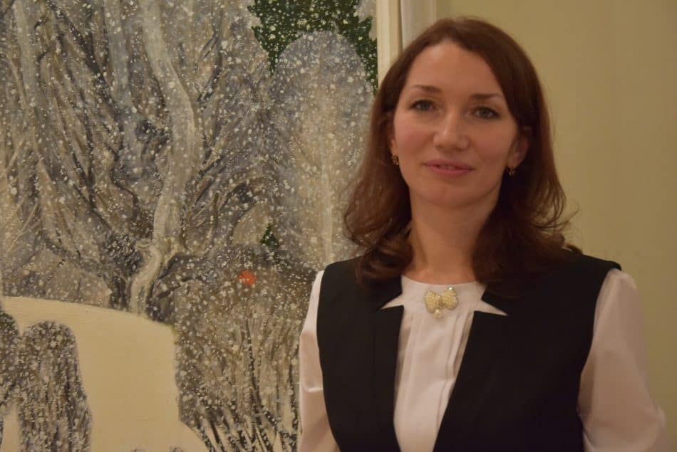 Виктория Стафейкова. Фото Марии Голубевой