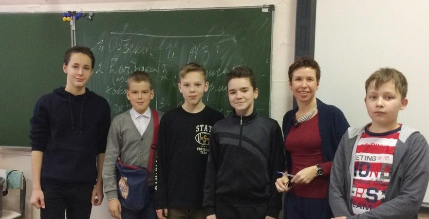 Елена Харламова со студийцами