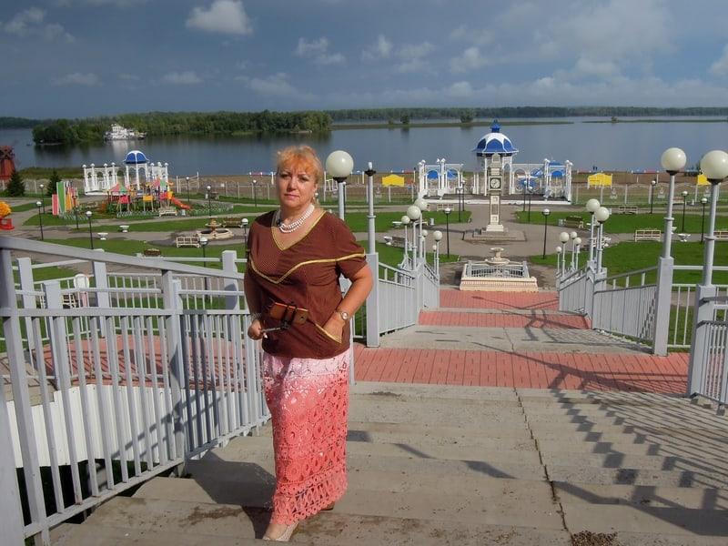 Лидия Винокурова в Чистополе